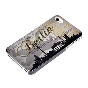 deinPhone Apple iPhone 4 4S HARDCASE Hülle Case Berlin Skyline
