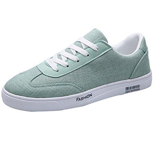 Neuen Stil Canvas-Schuhe Sommer-Schuhe-Stoff Atmungsaktiv Koreanischen-Stil Trend Wilden Männer Casual Canvas Schuhe der Männer (Farbe: blue-39) -