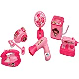 GRAPPLE DEALS Dream Household 6 Pcs House Appliances Pretend Play Newest Product For Your Little Princess.