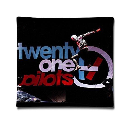 FHY Twenty One Pilots Band 2-Sides Printing Personalized Custom Cotton Pillow case/Kissenbezüge 18