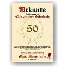 """Riesen Umschlag /""""Alte Schachteln/"""" Geburtstag Geldgeschenk Geburtstagskarte"""
