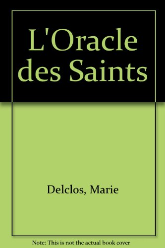L'Oracle des Saints