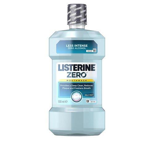 Listerine Zero 0% Alcohol Enjuague Bucal - 500 ml
