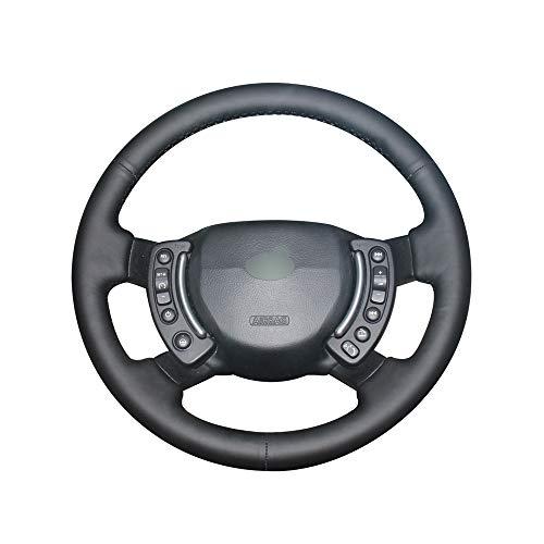 Preisvergleich Produktbild PSTPPZ Handgenähte DIY PU-Kunstleder-Auto-Lenkradabdeckung für Land Rover Range Rover 2003-2012