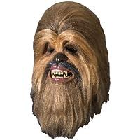 Máscara de lujo de Chewbacca de Star Wars para adulto