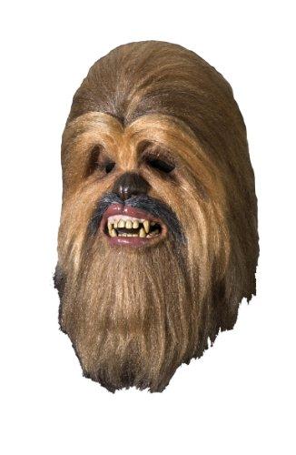 Maske Deluxe für Erwachsene (Deluxe Chewbacca Kostüme Für Erwachsene)