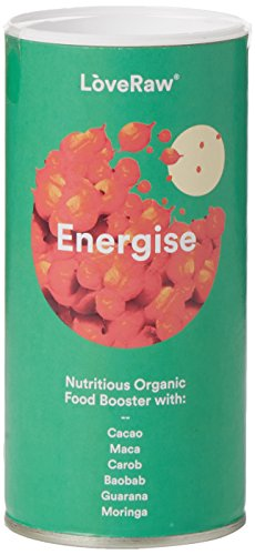 Love Raw Energise alimentos orgánicos Booster, 150 g