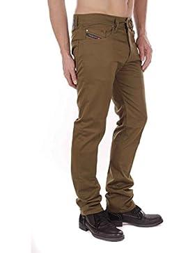 Diesel Buster-A 0AABS 5CD Pantalones para hombres Regular Slim Tapered