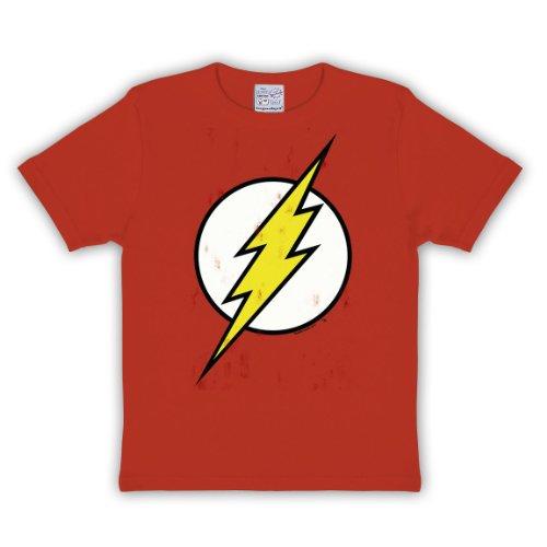 Flash - T shirt per bambini - Logo in rétro style - Girocollo - Rétro - 122/134