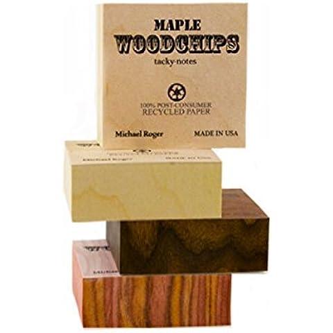 Woodchip Tacky Note: Cedar