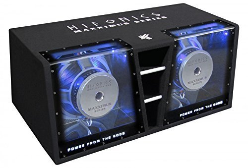 Hifonics MXZ12DUAL Dual-bandpass-system