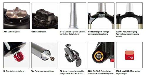 Suntour xcm V3forcella ammortizzata SF3xcm P 26pollici MTB della bicicletta forcella bici Gabel