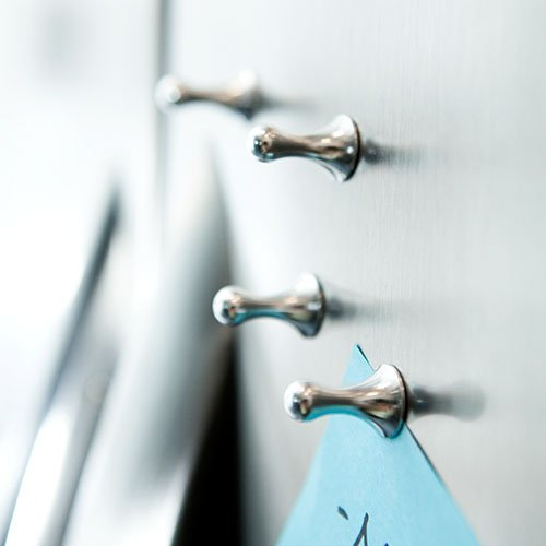 Set di magneti in alluminio anodizzato, ideale