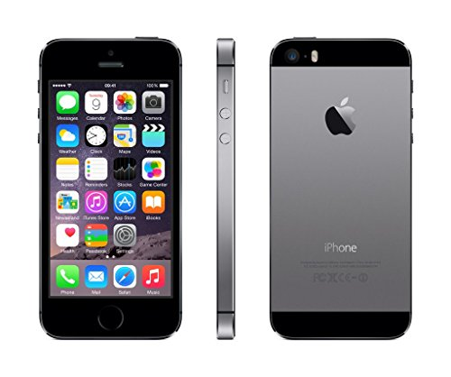 Apple iPhone 5S Smartphone (10,2 cm (4 Zoll) Display, 16GB Speicher, iOS) grau - 2