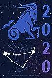 Kalender 2020 - Sternzeichen Steinbock: Schöner Kalender mit Sternzeichen | Wochenplaner mit 70 Seiten | 15,24 cm X 22,86 cm ( 6 X 9 Inches )