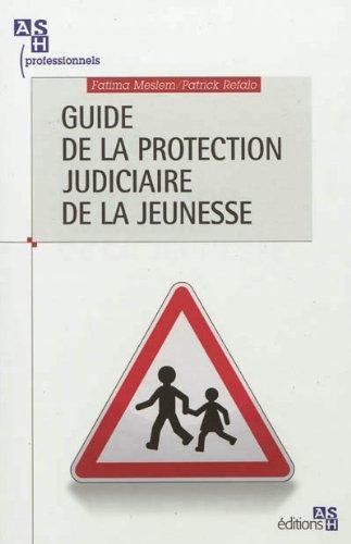 Guide de la protection judiciaire de la jeunesse
