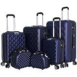 Capital Luggage Trolley Bags Set Of 6 Pcs