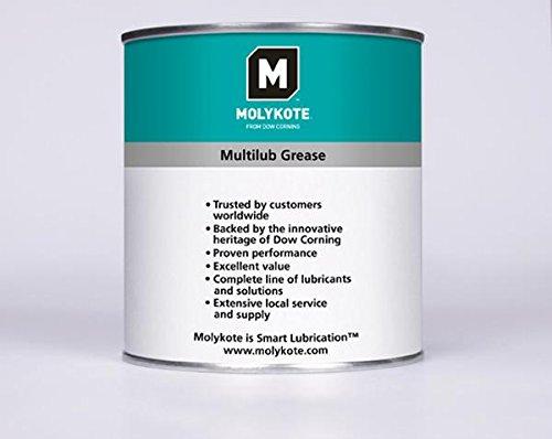 Molykote Tuschefueller MG1–Multilub Schmierfett, grün/weiß, 1kg