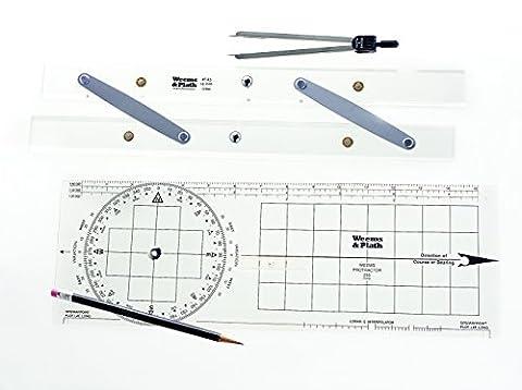Weems & Plath Marine Navigation Tool Set (Basic) by Weems & Plath