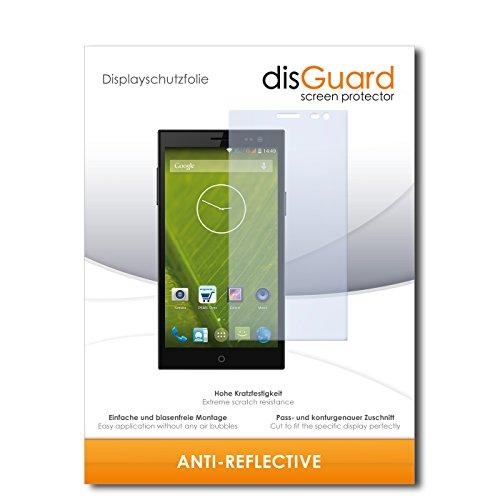 disGuard® Bildschirmschutzfolie [Anti-Reflex] kompatibel mit Simvalley Mobile SPX-34 [4 Stück] Entspiegelnd, Matt, Antireflektierend, Extrem Kratzfest, Anti-Fingerabdruck - Panzerglas Folie, Schutzfolie