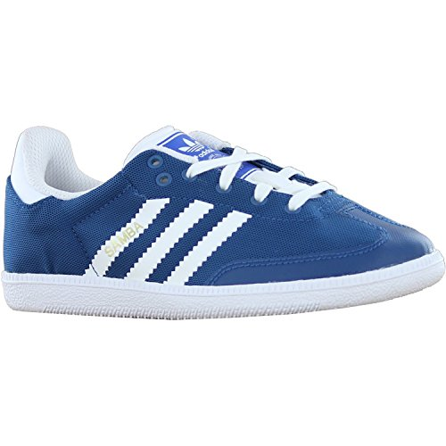Adidas Schuhe Kinderunior Kinder Originals (sport) SAMBA LIGHT K triblu/runwh