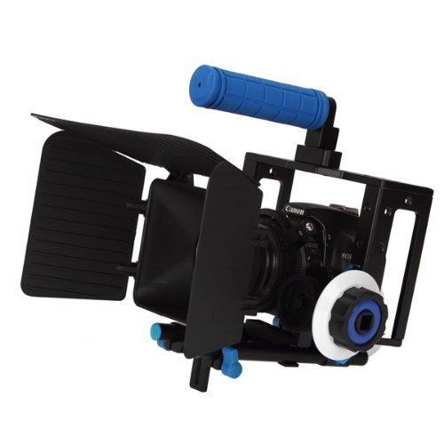 sunsmart-pro-rig-jaula-5d-mark-ii-top-handle-15mm-aluminio-varilla-bloquear-plate-follow-focus-caja-