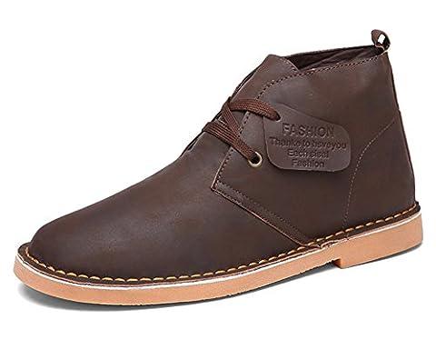 Fangsto Chukka Boots, Desert boots garçon homme - Marron - marron,