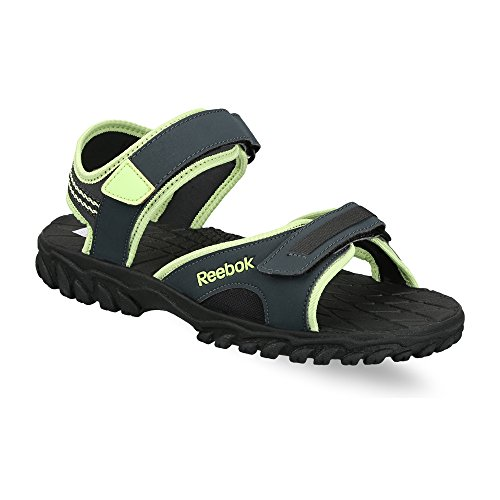 Reebok Women's Adventure Chrome Gravel, Luminous Lime and Black Fashion Sandals - 6 UK/India (39 EU) (8.5 US)  available at amazon for Rs.1199