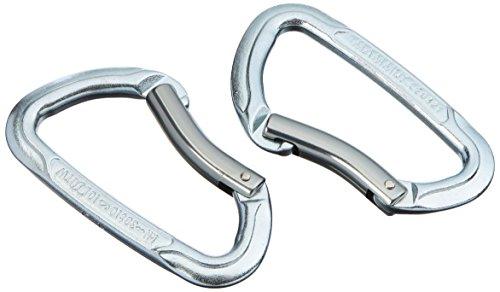 Mammut Erwachsene Karabine Element Steel, Key Lock.Basalt, One size, 2210-00790