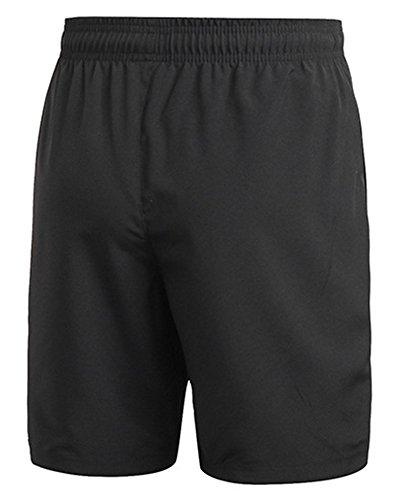Pantaloncini Sportivi Da Uomo Corsa Shorts Running Nero