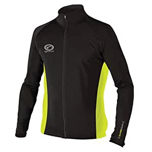 Optimum Nitebrite Men's Winter Roubaix Jacket  - Black, Small