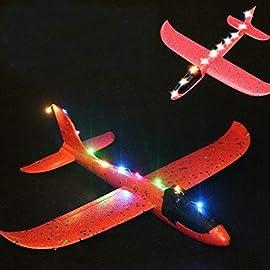 il lancio schiuma eva gettando aliante ha portato l/'aereo modello un giocattolo