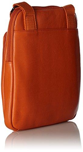 Piquadro CA1358S73/AR Euclide Borsello, Arancione Arancione
