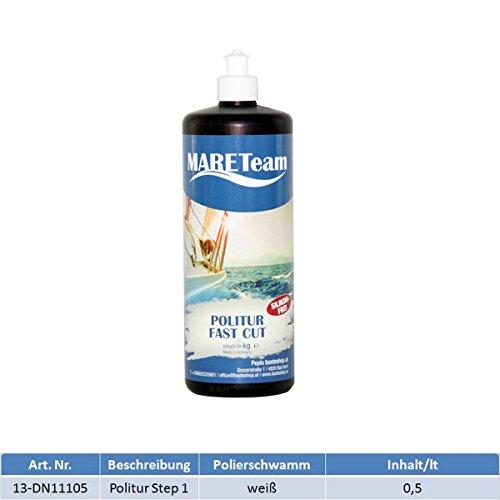 Ultra Gloss Wax (MARETeam Politur Step 1 500 ml)