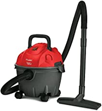 Prestige Plastic Wet and Dry Vacuum Cleaner(Black and Red)