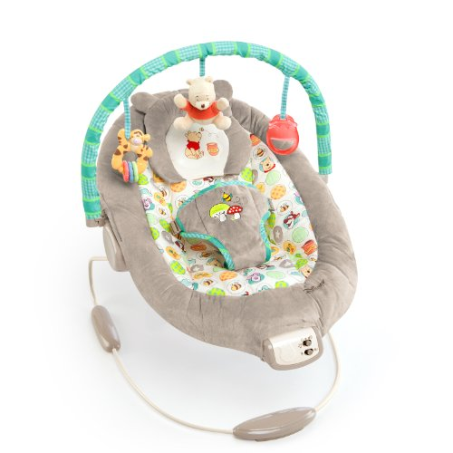 Disney Baby Winnie The Pooh Bouncer, Dots and Hunny Pots by Disney