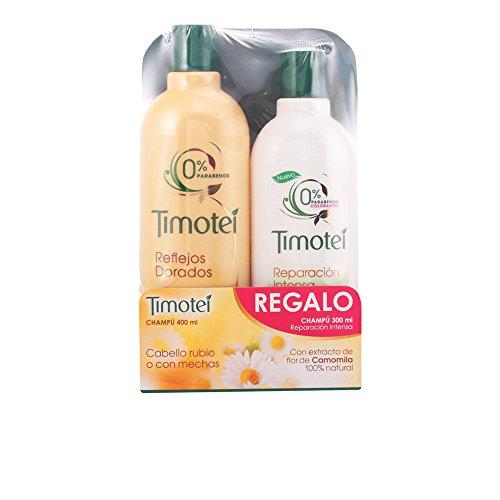 Timotei Shampoo riflessi dorati + Shampoo riparazione Intensa - 1 Pack