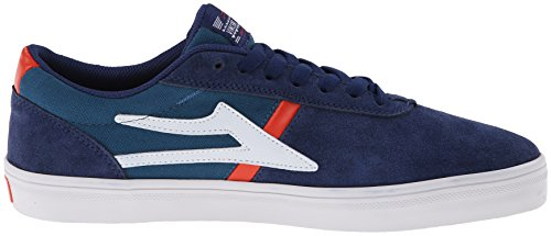 Lakai , Chaussures de skateboard pour homme Daim Bleu marine