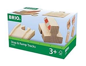 Brio - Pack vías de parada y en rampa (33385)