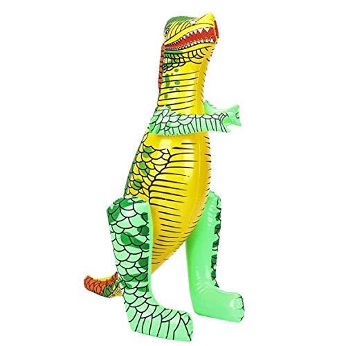 KJweitian Ungewöhnliche 40/55cm Aufblasbar Dinosaurier Zum Aufblasen Spielzeug Kostüm Strand Schwimm Pool Spaß Spielzeug - Aufblasbar Groß - Ungewöhnliche Kind Kostüm