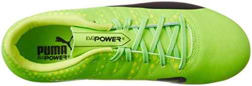 Puma Evopower Vigor 4 Ag, Scarpe da Calcio Uomo Verde (Green Gecko-puma Black-safety Yellow 01)