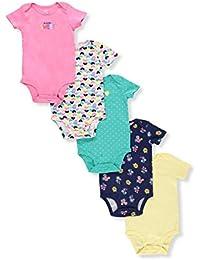 Carter's Pack de monos para bebé-niñas 9 meses Multi