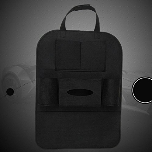 Auto Seat Organizer 4. Storage Rückseite Tasche Handy Halter aus Wolle
