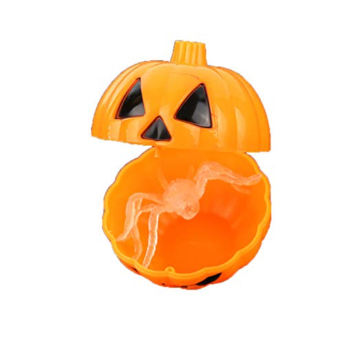 Newin Star 1 Stück Halloween Kürbis Eimer Kinder -