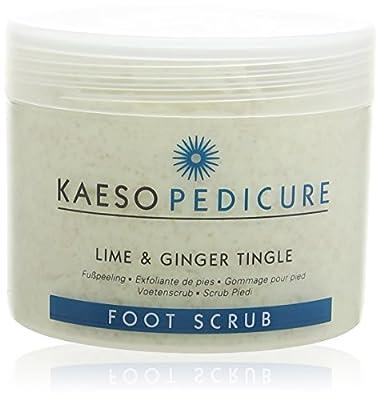 Kaeso Lime and Ginger Tingle Foot Scrub 450 ml