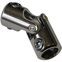 Genouillère acier : Rond 12 mm/Rond 12 mm