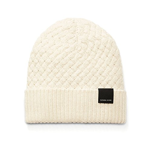 Canada-Goose-Ladies-Basket-Stitch-Toque-Ivory-One-Size