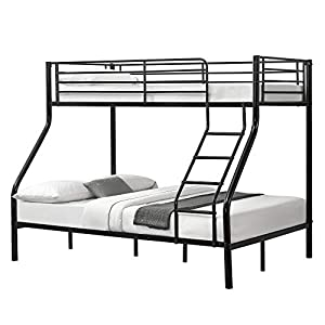 neu.haus] Metal Bunk Bed 210cm x 147,5cm x 168cm Children Bed Triple Sleeper Double Bed