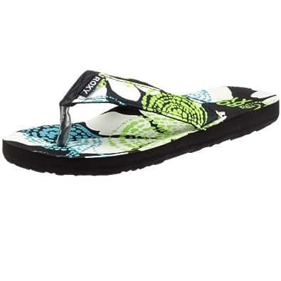 Roxy Tallia XEWSL104Womens Sandals/Toe Separator Black Size: 6.5