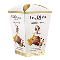 GODIVAMilk Chocolate Hazelnut Box, 117 g(Pack of1)